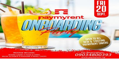 Paymyrent On-boarding Party