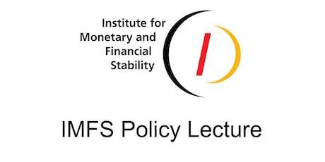 """IMFS Policy Lecture: Prof. Volker Wieland - """"Ein Preis für CO2"""" Tickets"""