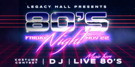 80s Night - The Ultimate 80s Party tickets