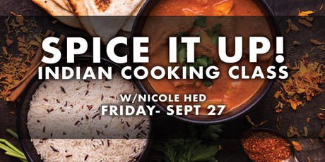 Spice it Up - Indian Cooking Class tickets