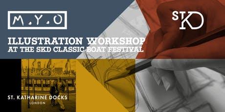 FREE - Sep 7th & 8th - Learn to illustrate Gloriana, The Queen's Rowbarge at SKD Classic Boat Festival 2019 tickets