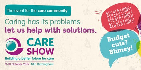 The Care Show 2019 tickets