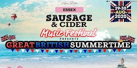 Essex Sausage & Cider Music Festival 2020 tickets
