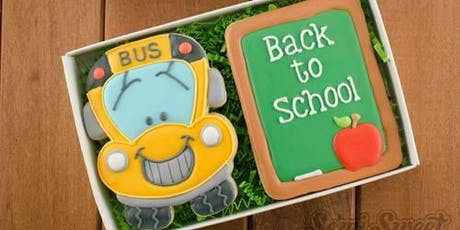 Back to school cookie class tickets