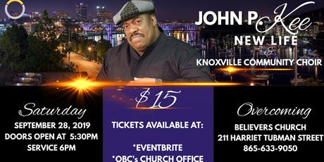 John P Kee & New Life LIVE at OBC!!! tickets