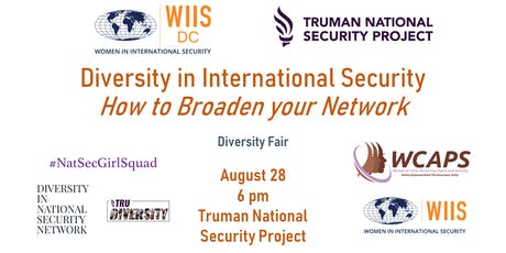 Diversity in International Security: How to Broaden your Network tickets