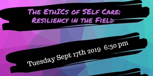 Hospice Dufferin AGM- The Ethics of Self Care: Resiliency in the Field