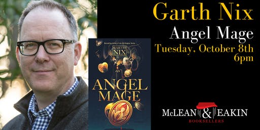 Garth Nix at McLean & Eakin Booksellers!