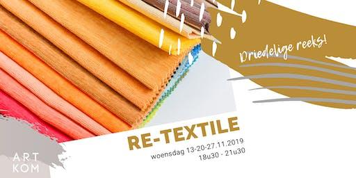 Re-Textile: workshop textielbewerking