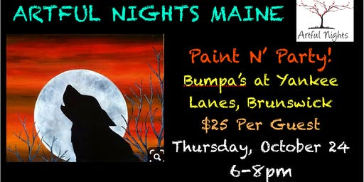 Paint N' Party at Bumpas at Yankee Lanes