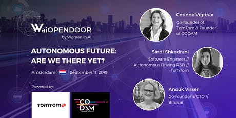 "WaiOPENDOOR ""Autonomous Future: Are we there yet?"" tickets"