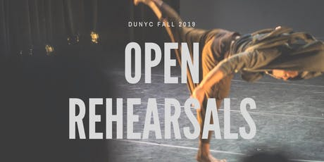 DUNYC Fall 2019 Open Rehearsal: Hara Zi & Bboy Spyderman tickets
