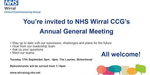 NHS Wirral CCG Annual General Meeting 2019
