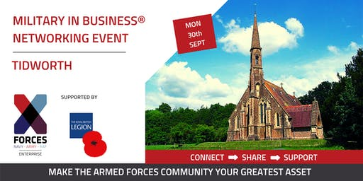 Military in Business Networking Event: Tidworth