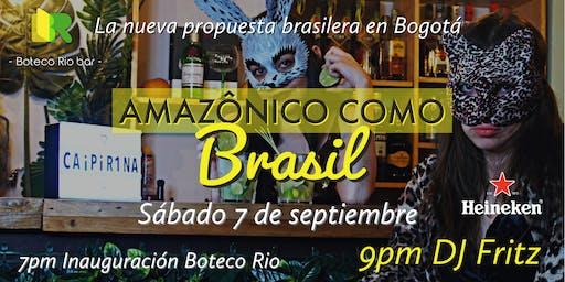 Amazónico como Brasil