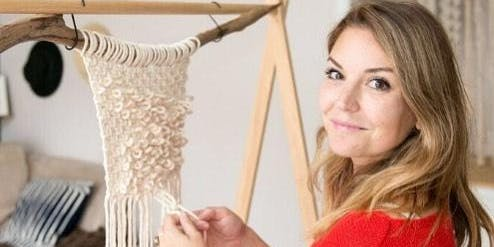 """Peculiar Abode"" Macrame Wall Hanging Workshop"