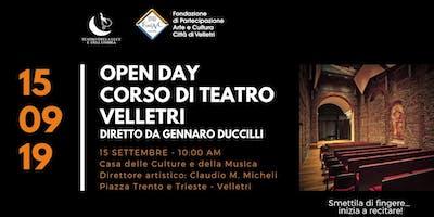 OPEN DAY Corso di Teatro Gennaro Duccilli alla Casa delle Culture