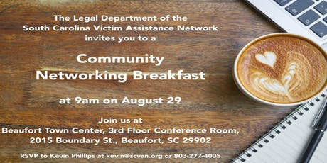 2nd Low Country Community Networking Breakfast tickets