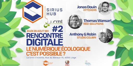 Rencontre Digitale #2 : Le numérique écologique c'est possible ?