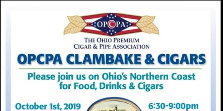 OPCPA Clambake & Cigars tickets