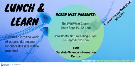 Lunch & Learn with Ocean Wise tickets