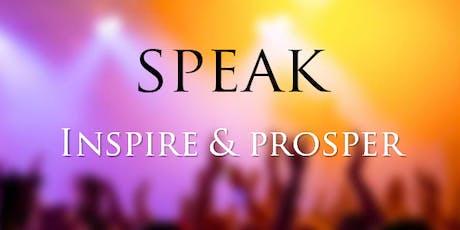 Speak Inspire 5K / Day System tickets