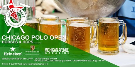 CHICAGO POLO OPEN - HORSES & HOPS tickets
