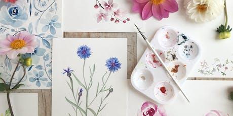 Botanical Watercolours w/ Harriet De Winton tickets