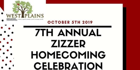 7th Annual Zizzer Homecoming Celebration tickets