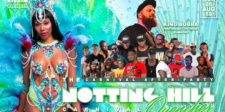 Notting Hill Carnival Quencher - Carnival Monday tickets