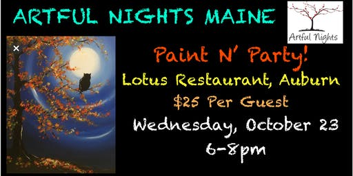 Paint N' Party at Lotus Restaurant