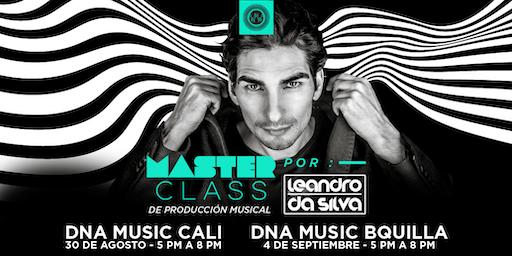 Masterclass de Producción Musical por Leandro Da Silva