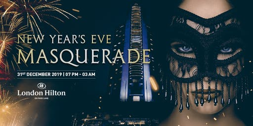 New Year's Eve Mayfair Masquerade Gala Dinner Party 2019