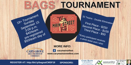 Cary Main Street Fest Bags Tournament