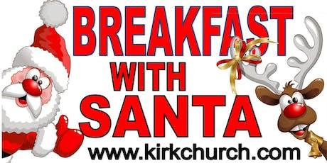 2019 Breakfast with Santa tickets
