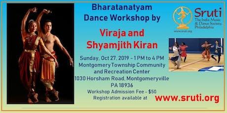 Bharatanatyam Workshop by Viraja and Shyamjith Kiran tickets