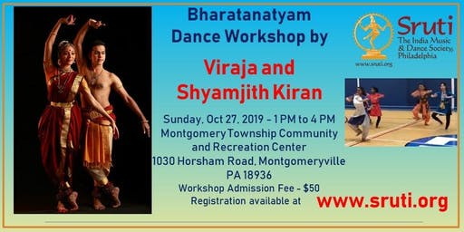 Bharatanatyam Workshop by Viraja and Shyamjith Kiran