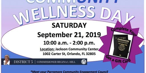 Parramore CommUnity Wellness Day