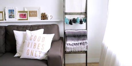 Blanket ladder workshop. Build your own blanket ladder! tickets