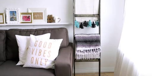 Blanket ladder workshop. Build your own blanket ladder!