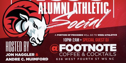 3rd Annual WSSU Homecoming Athletic Social