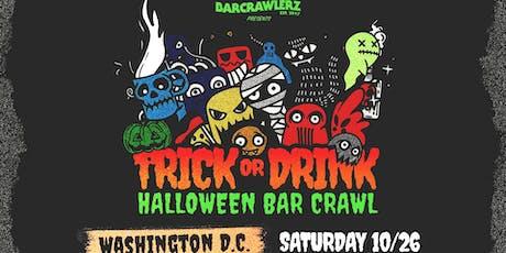 Trick or Drink: D.C. Halloween Bar Crawl tickets