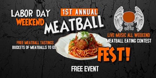1st Annual Meatball Festival