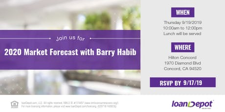 loanDepot 2020 Market Forecast with Barry Habib tickets