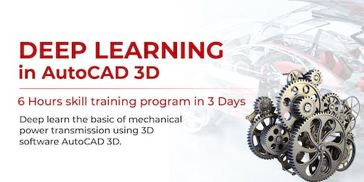 Deep Learning In AutoCAD 3D
