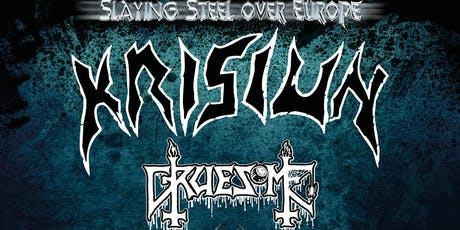 KRISIUN/ GRUESOME / VITRIOL at Boston Music Room, London tickets