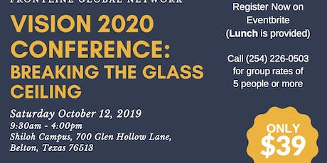 Vision 2020 Conference: Breaking The Glass Ceiling tickets