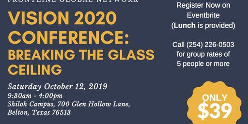 Vision 2020 Conference: Breaking The Glass Ceiling