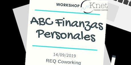 Workshop  ABC Finanzas Personales entradas