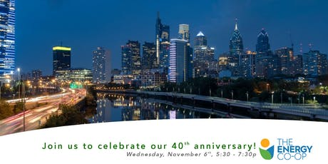 The Energy Co-op 40th Anniversary tickets